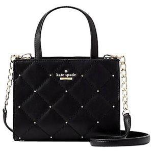 Kate Spade Emerson Studded Sam Crossbody Handbag